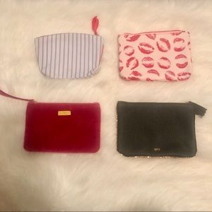 Bundle of 4 Ipsy bags - NEW, UNUSED
